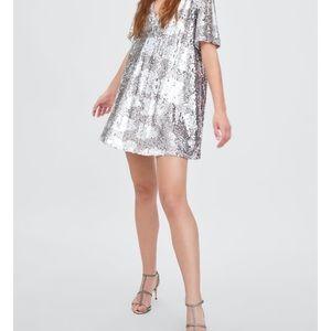 Zara sequin mini dress! Make your best offer